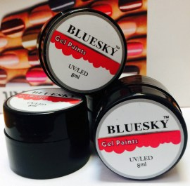 gel paints BlueSky